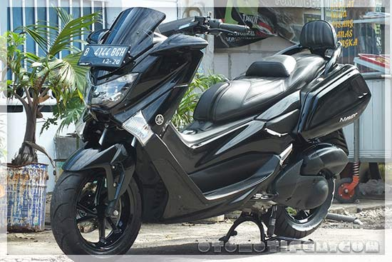 modifikasi nmax  simple touring modif jari jari