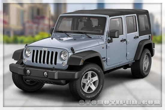 Harga Mobil Jeep Wrangler Unlimited Sahara