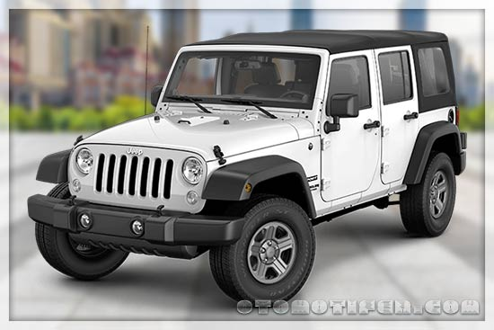 Harga Mobil Jeep Wrangler Unlimited Sport