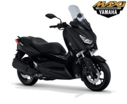 Warna Yamaha XMAX Hitam