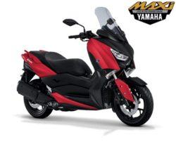 Warna Yamaha XMAX Merah