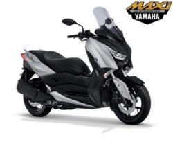 Warna Yamaha XMAX Silver