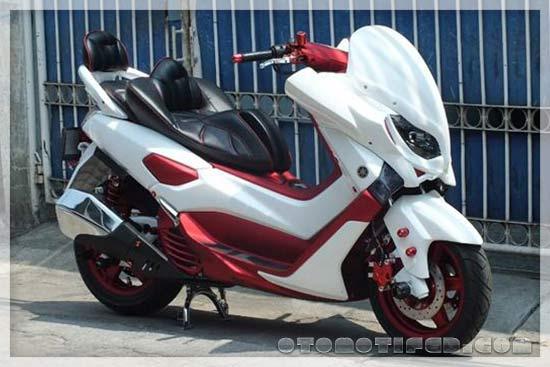 Yamaha NMAX Modif Ban Besar