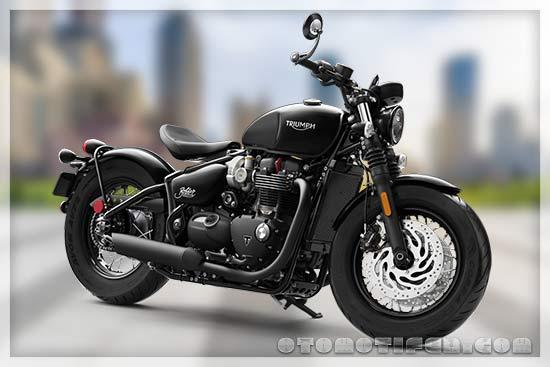 Harga Motor Triumph Bonneville Bobber Black