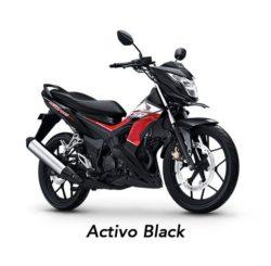 Warna Honda Sonic 150 Activo Black
