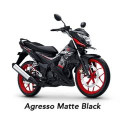 Warna Honda Sonic 150 Agresso Matte Black