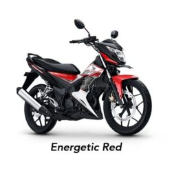 Warna Honda Sonic 150 Energetic Red
