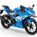 Warna Suzuki GSX R150 Triton Blue
