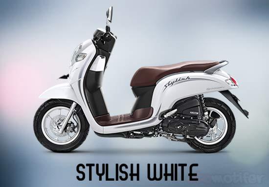 Warna Motor Scoopy Putih
