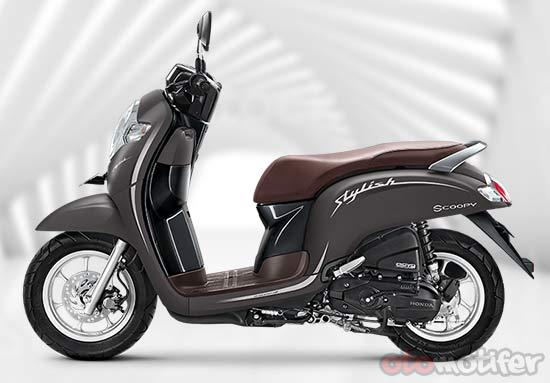 Gambar Motor Matic Honda Scoopy Terbaru