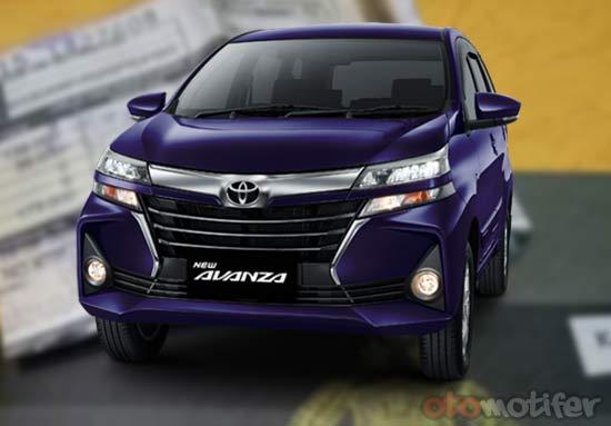 Pajak Toyota Avanza Pertahun