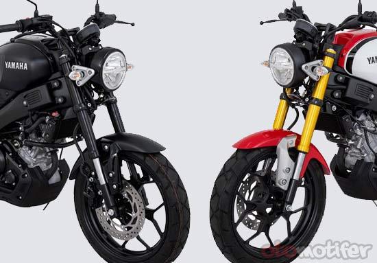 Upside Down Yamaha XSR155