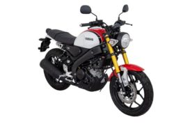 Warna Yamaha XSR155 Hitam