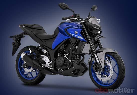 Spesifikasi dan Harga Yamaha MT 25