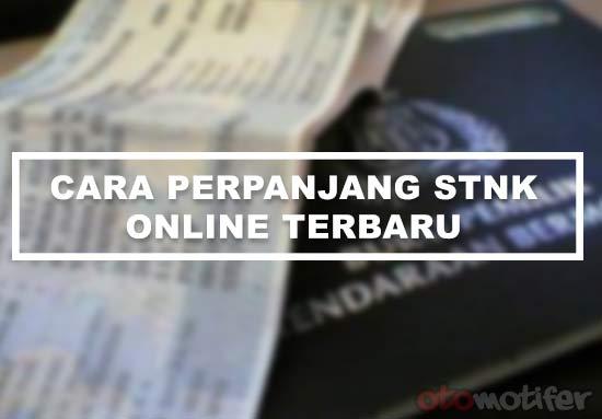 Cara Perpanjang STNK Online
