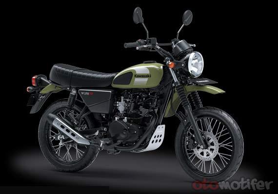 Harga Kawasaki W175 TR
