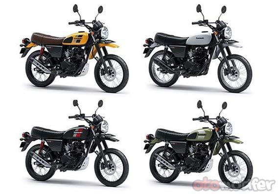 Pilihan Warna Kawasaki W175TR