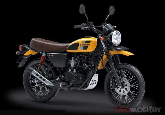 Spesifikasi dan Harga Kawasaki W175 TR